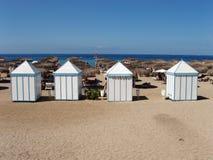 海滩俱乐部 免版税库存图片