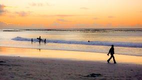 海滩假日旅行场面在开普敦 免版税库存照片