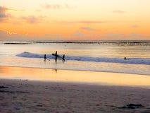 海滩假日旅行场面在开普敦 免版税库存图片