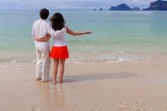 海滩假期 免版税图库摄影