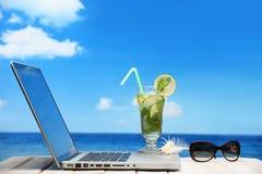 海滩假期 免版税库存照片