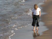 海滩儿童结构 免版税库存照片