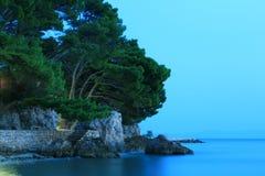 海滩克罗地亚 免版税图库摄影