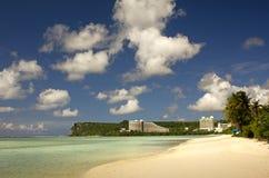 海滩关岛 免版税库存图片