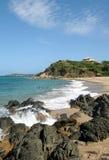 海滩别克斯岛 库存照片