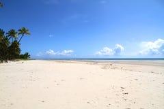 海滩前在巴伊亚 库存图片