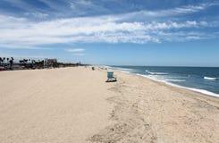 海滩加利福尼亚亨廷顿 免版税库存照片