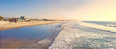 海滩加利福尼亚居民 免版税库存图片