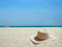 海滩加勒比帽子 免版税图库摄影