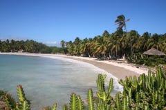 海滩加勒比 免版税库存图片