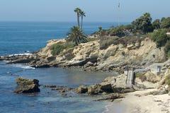 海滩加州拉古纳 图库摄影