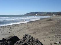 海滩加州维特纳 免版税库存图片