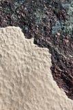 海滩包括海洋岩石沙子 免版税库存照片