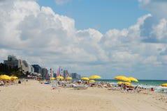 海滩南的佛罗里达 库存照片