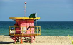 海滩南的迈阿密s 免版税库存照片