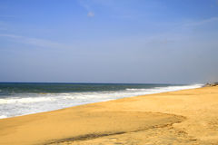 海滩印度喀拉拉poover 免版税库存图片