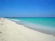 海滩古巴varadero 库存图片