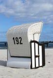 海滩含沙位子柳条 图库摄影