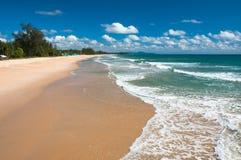 海滩和热带海运 图库摄影