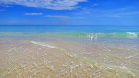 海滩在南澳大利亚 免版税库存图片