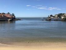 海滩在圣埃斯皮里图巴西 免版税图库摄影