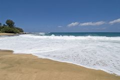 海滩在天堂 免版税库存照片
