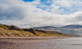 海滩在爱尔兰 图库摄影