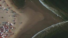 海滩在特拉维夫,以色列 影视素材