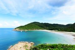 海滩在香港 免版税库存图片