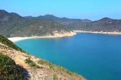 海滩在香港 库存照片