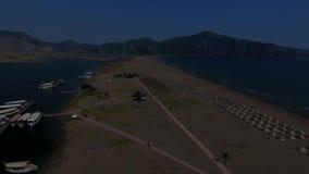 海滩在Mugla,土耳其 影视素材