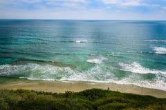 海滩地亚哥圣 库存图片
