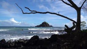海滩场面在毛伊夏威夷 影视素材