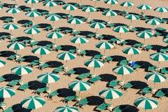 海滩坎恩帕贝索意大利molise termoli 库存图片