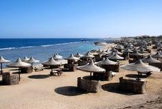 海滩埃及红海 库存照片