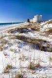 海滩城市佛罗里达巴拿马 免版税图库摄影