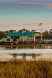 海滩城市佛罗里达房子巴拿马 免版税库存图片