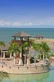 海滩城楼 免版税库存图片