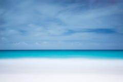 海滩墙纸 免版税库存图片