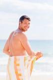 海滩夏天星期日 库存照片