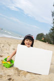 海滩夏天 库存照片