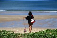 海滩夏天 免版税库存照片
