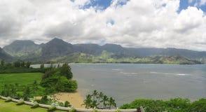 海滩夏威夷海岛考艾岛 免版税库存照片
