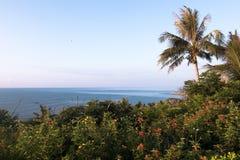 海滩外型在台东,台湾 免版税库存照片