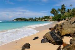 海滩天堂 免版税图库摄影