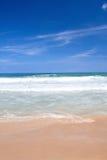 海滩失败的热带通知 免版税库存图片