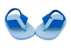 海滩婴孩 免版税库存照片
