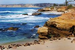 海滩子项的 免版税库存图片