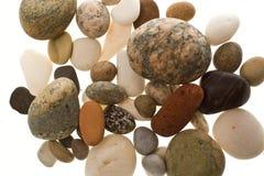 海滩小卵石堆 库存图片