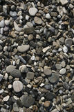 海滩小卵石石头 免版税库存照片